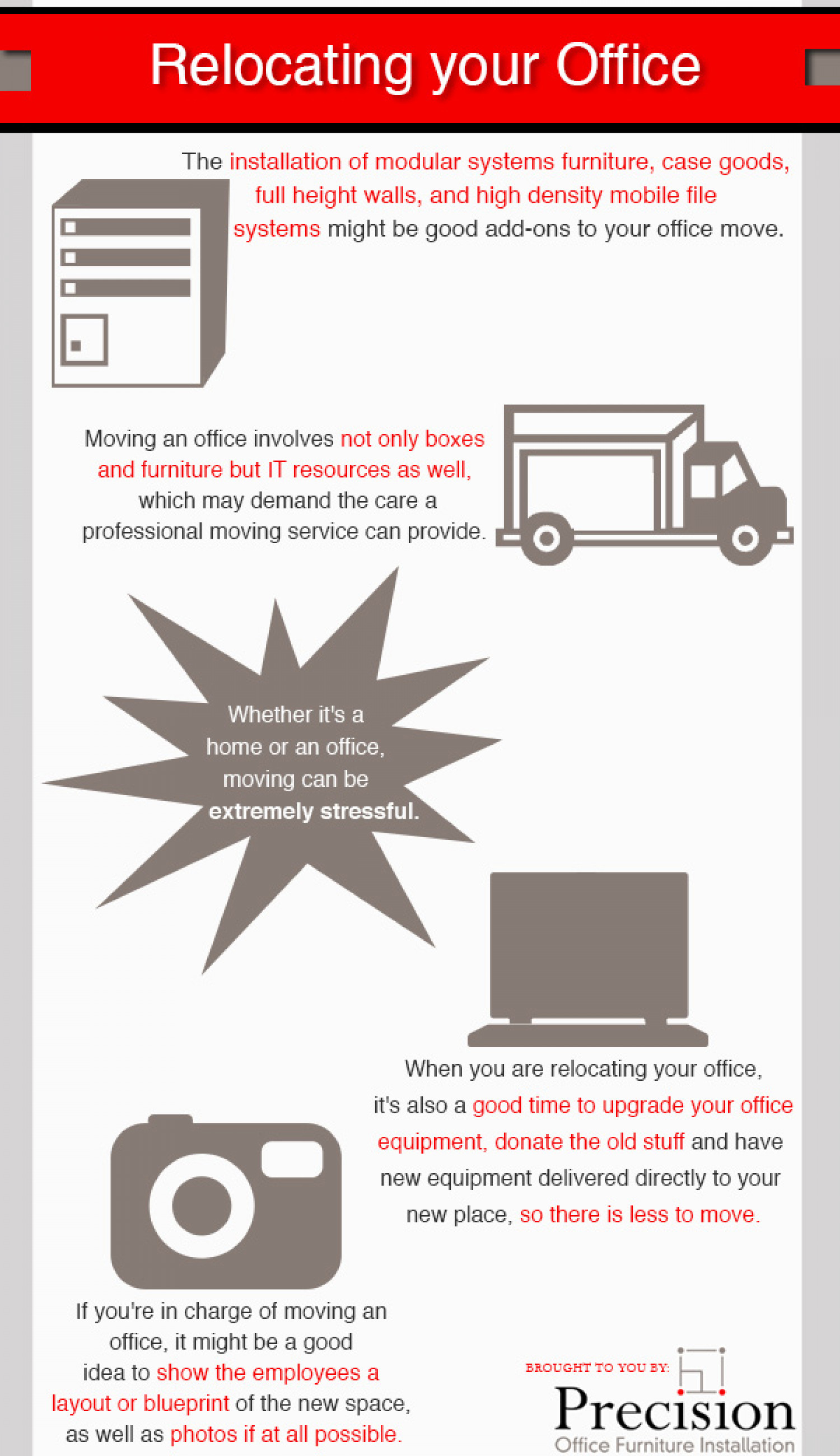 Relocating Your Office Infographic