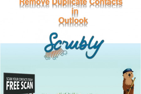 Remove and Prevent Duplicate Contacts in Outlook  Infographic