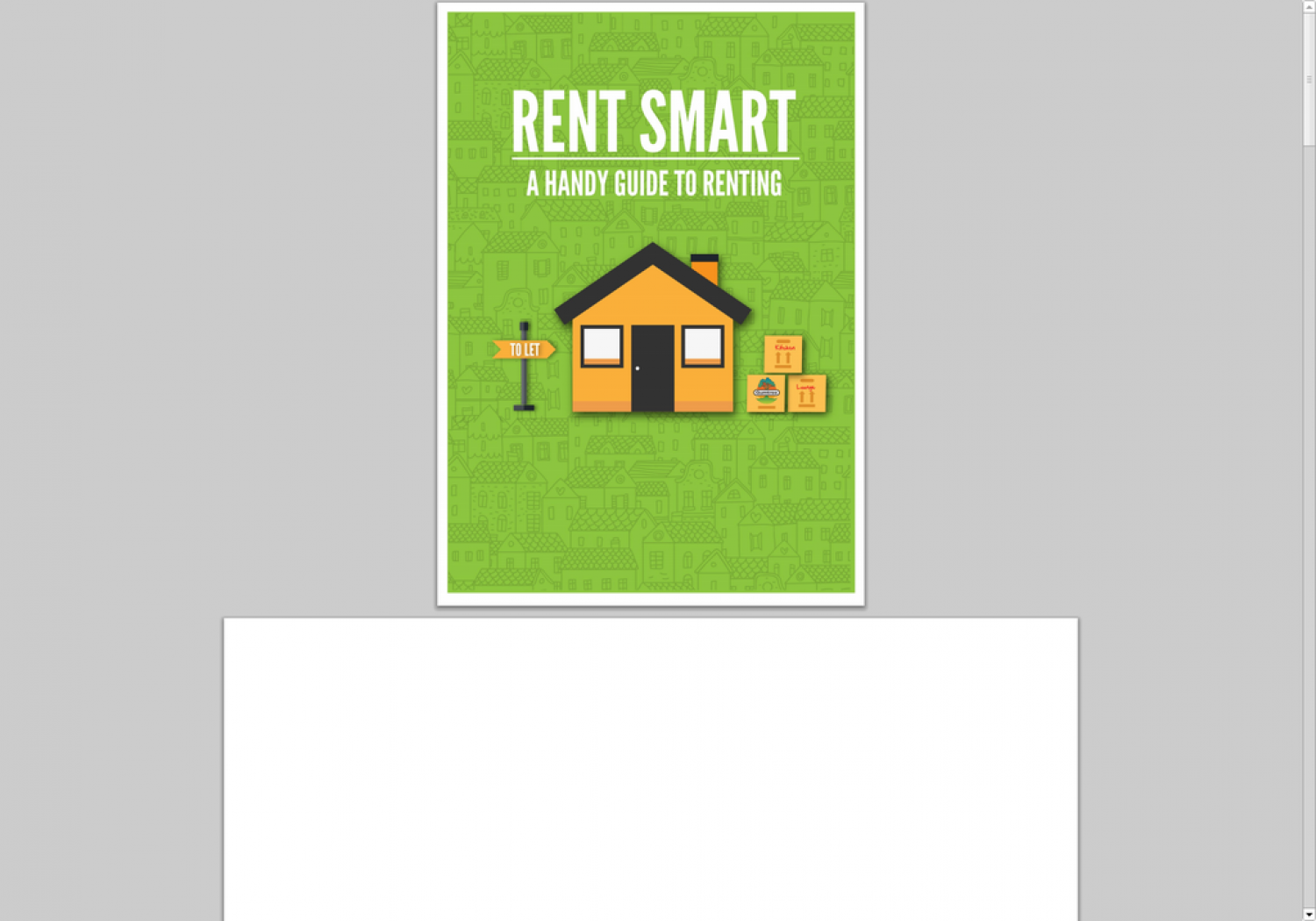 Rent smart - a handy guide to renting  Infographic
