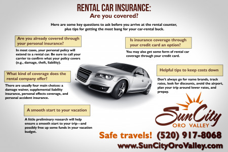 Rental Car Insurance: Are You Covered? Infographic