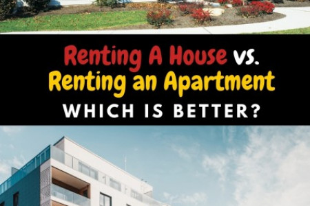 Renting an Apartment vs Renting a House Infographic