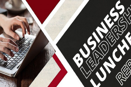 Report: Business Leadership Infographic