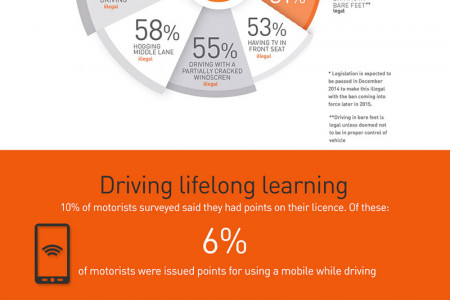 Report on Motoring 2014 Infographic Infographic