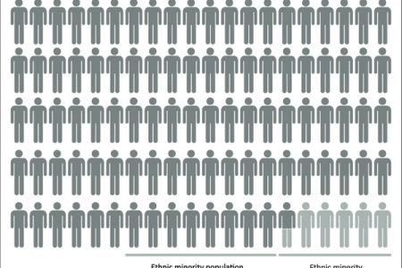 Representation of Ethnic Minorities in the Media Infographic
