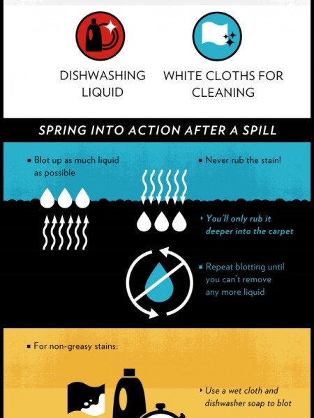 Rescuing Your Carpets from Spill Emergencies Infographic