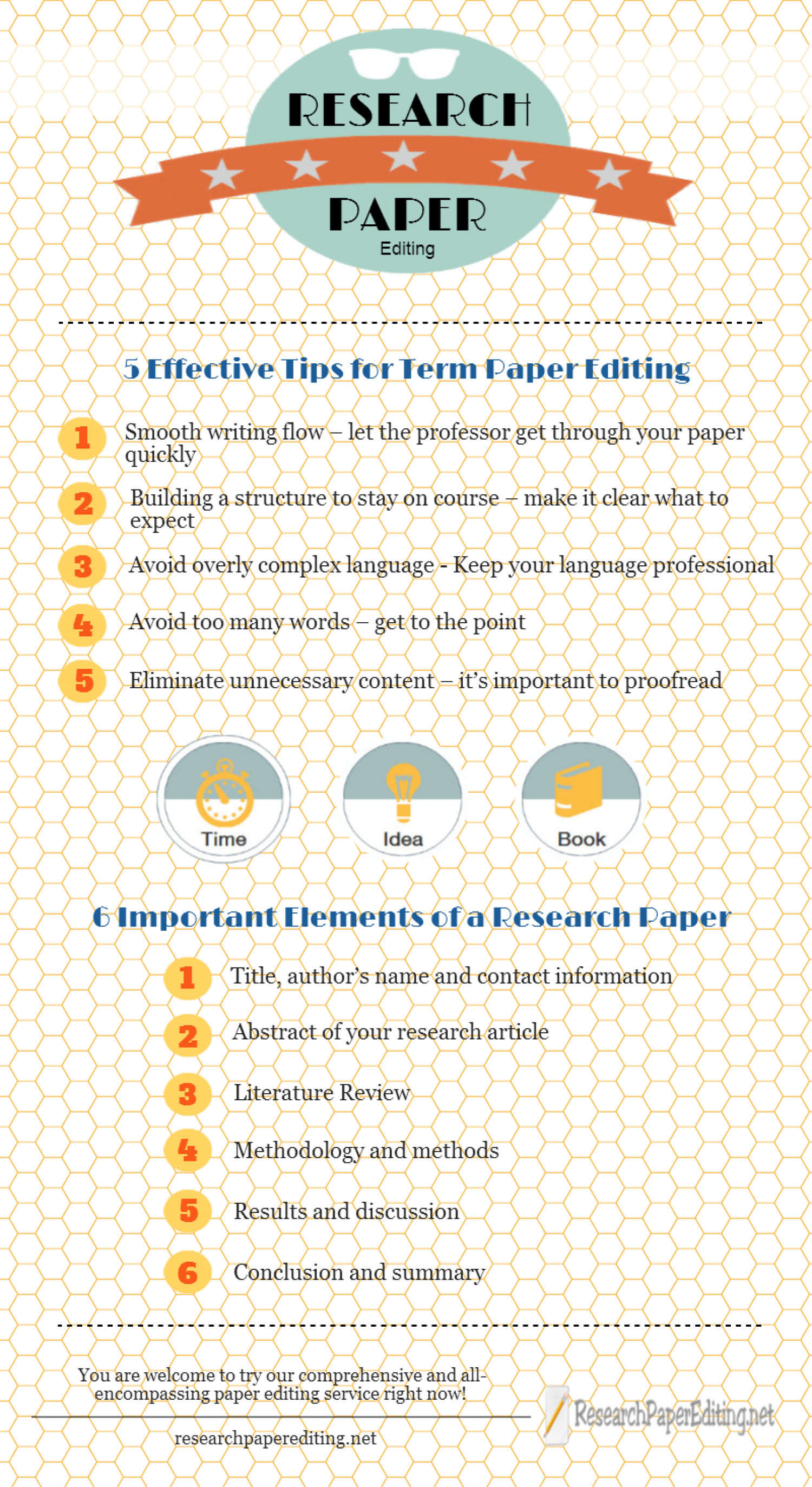 Professional Help with Research Paper Editing