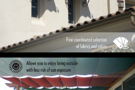 Residential Awnings and You Infographic