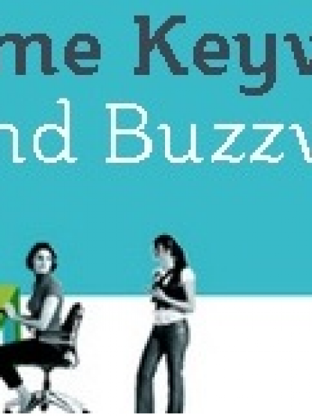 Resume Keywords and Buzzwords Infographic