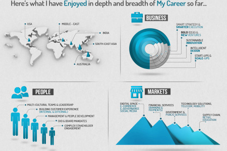 Resume of Entrepreneur Infographic