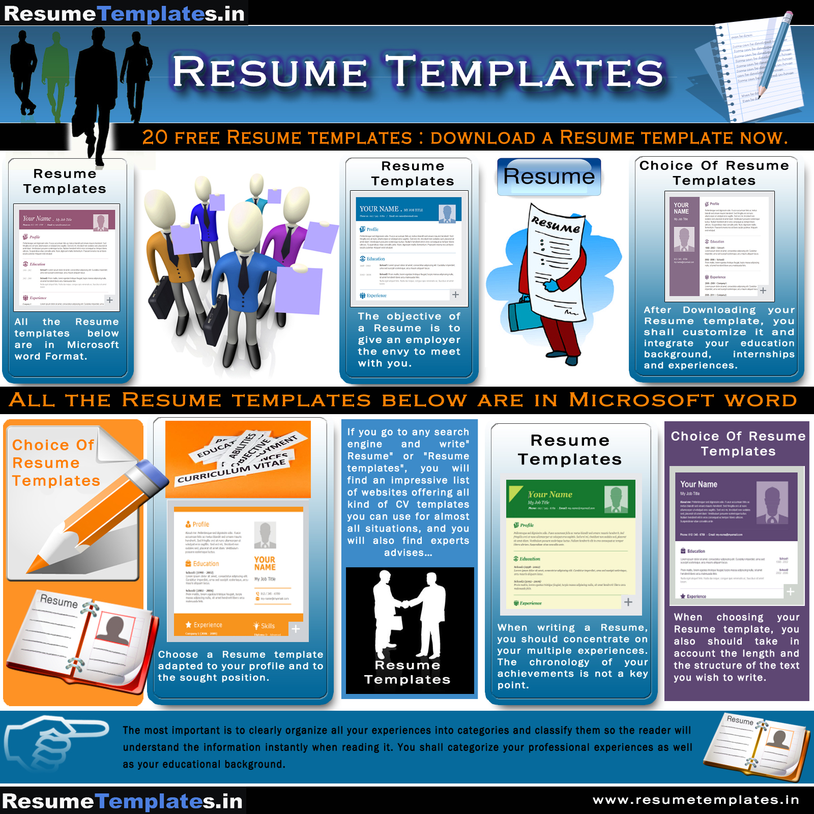 resume templates ly