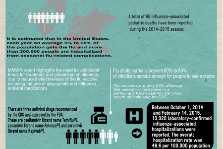 Revisiting flu season 2014/2015 Infographic