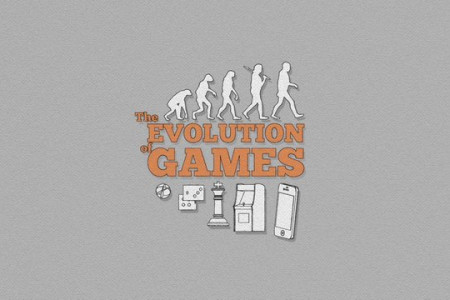 The Evolution Of Games Infographic
