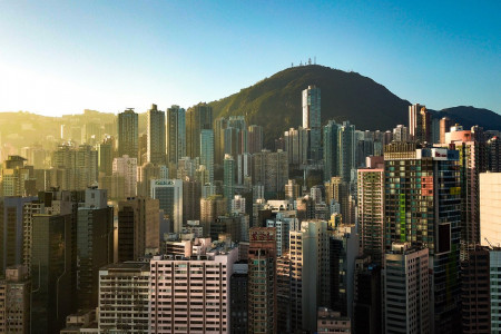 Rising House Prices in Hong Kong Increasing Need for Smaller Flats Infographic