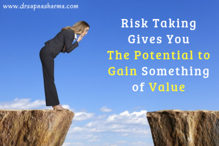 Risk Taking Gives You The Potential to Gain Something of Value Infographic