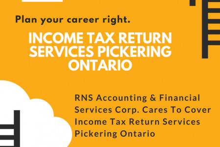 RNS Accounting & Financial Services Corp Cares To Cover Income Tax Return Services Pickering Ontario Infographic