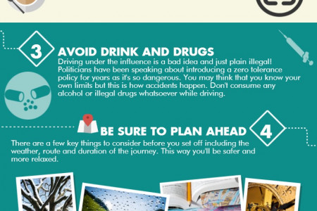 Road Safety Tips for Van Drivers Infographic