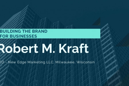 Robert M. Kraft: Creating a Brand From Businesses Infographic