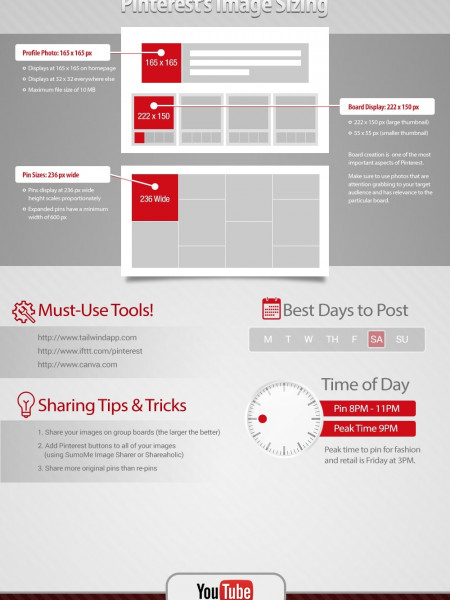 Rock Star: Social Media Factors Infographic