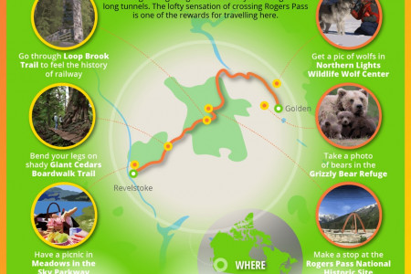 Rogers Pass Infographic