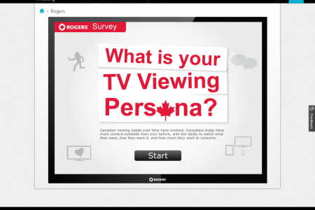 Rogers Survey: What is your TV Viewing Persona? Infographic