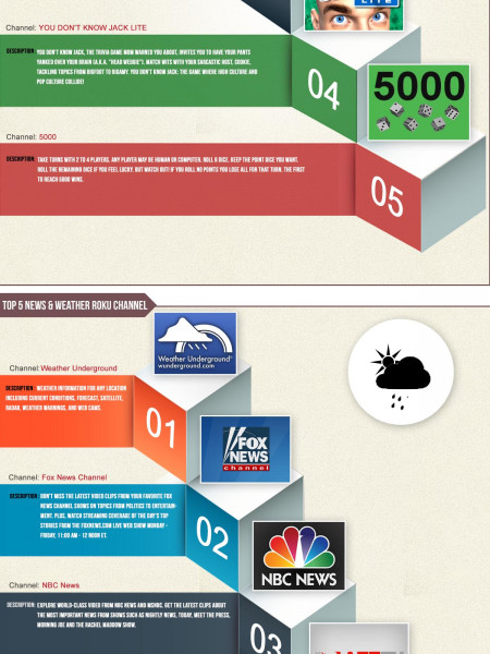 Roku Channels Ultimate Guide Infographic