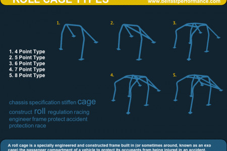 Roll Cage Types Infographic