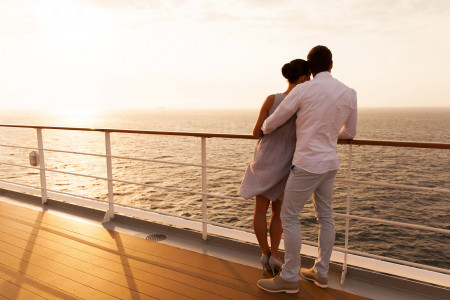 Romantic Holidays on a Cruise Infographic