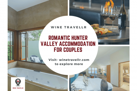 Romantic Hunter Valley Accommodation For Couples Infographic