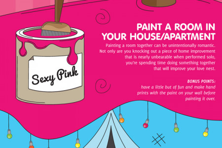 Romantic Ideas You Can Do At Home Infographic Infographic