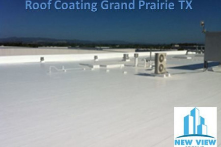 Roof Coating Grand Prairie TX Infographic
