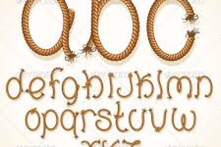 Rope BRUSH Lettering Infographic