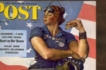 Rosie the Riveter Graphic Infographic