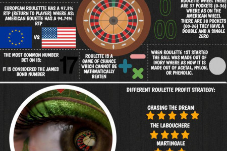 Roulette in Numbers  Infographic