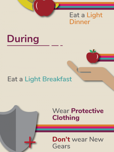 Running Your First Marathon – Dos and Don'ts Infographic