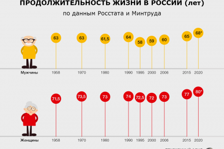 Russian Demographics. Infographic