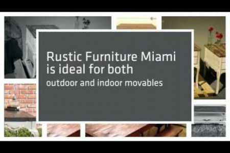 Rustic Furniture Florida Infographic