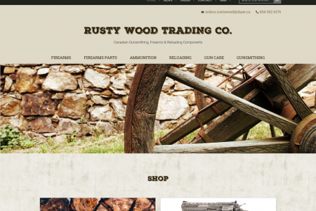 Rusty Wood Trading Co. Infographic