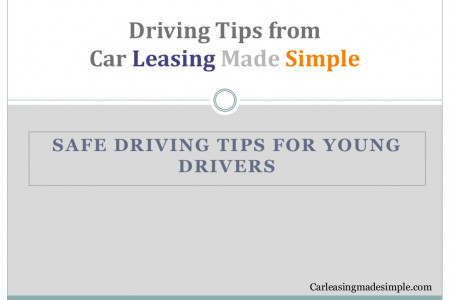 Safe Driving Tips for Young Drivers Infographic