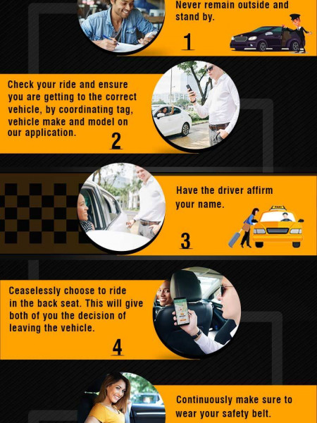 Safety Tips to To Use while riding with taxi Service Provider in Germany Infographic