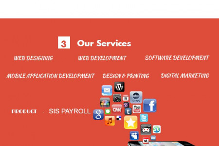 Sai Ideal Softwares pvt ltd Infographic