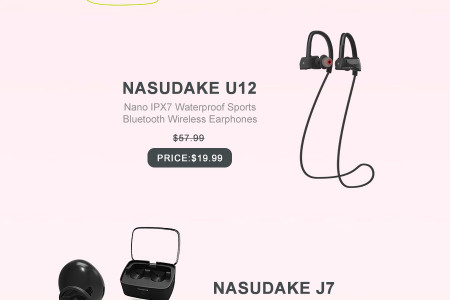 Sale Up To 85% Off on Nasudake Products on this Amazon Prime Day Infographic
