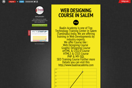 Salem Web design Infographic