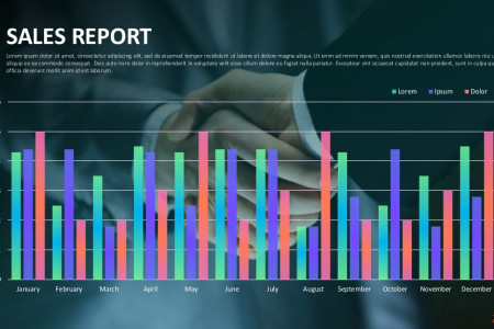 Sales Reports Presentation Template   Free Download Infographic