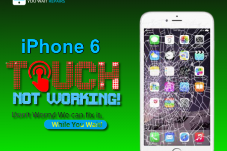 Same Day Apple iPhone 6 Cracked Screen Repair Service London Infographic
