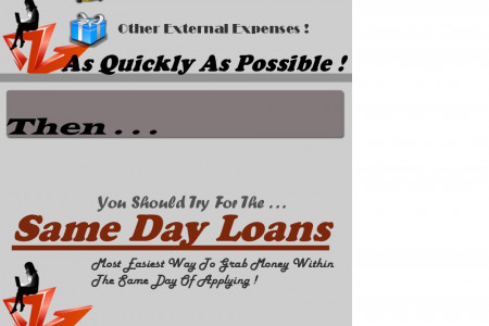 Same Day Loans- Get The Money In Your Hands Within 24 Hours Infographic