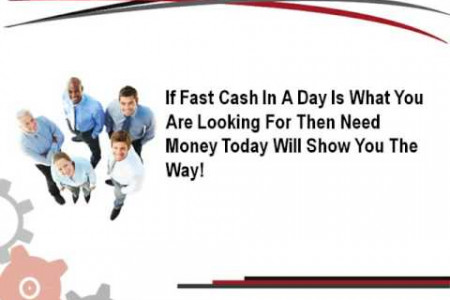 Same Day Payday Loans: Source of Cash Infographic