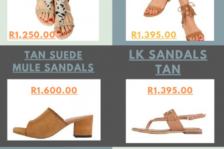 Sandals For Ladies South Africa Infographic