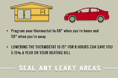 Save Energy and Money with These Handy HVAC Tips! Infographic