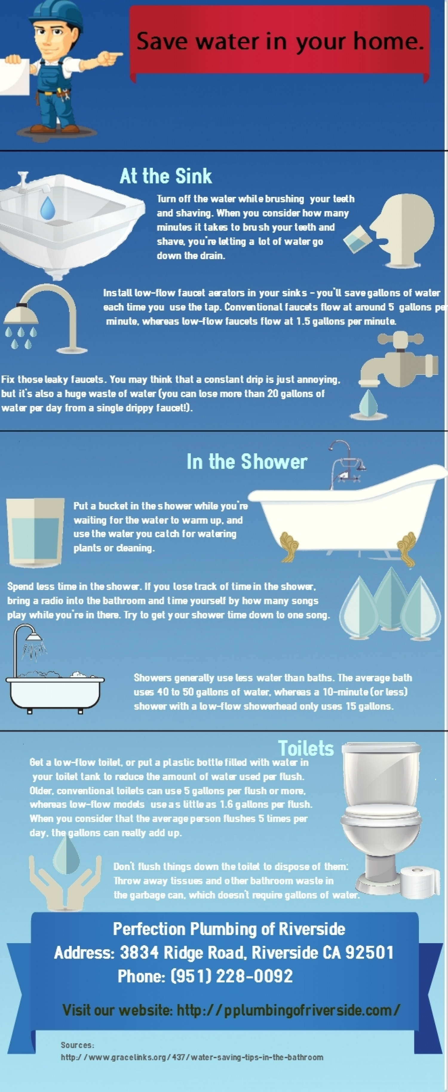 Save water in your home for How to save water in your house