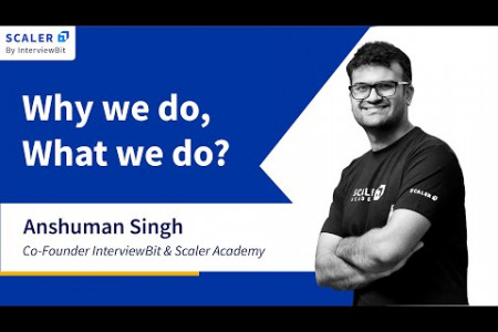 Scaler Academy: Why we do, what we do. Infographic